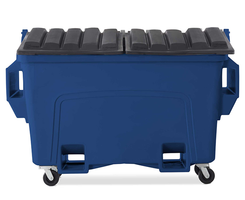 Plastic Front Load (Quad-Pocket) Containers