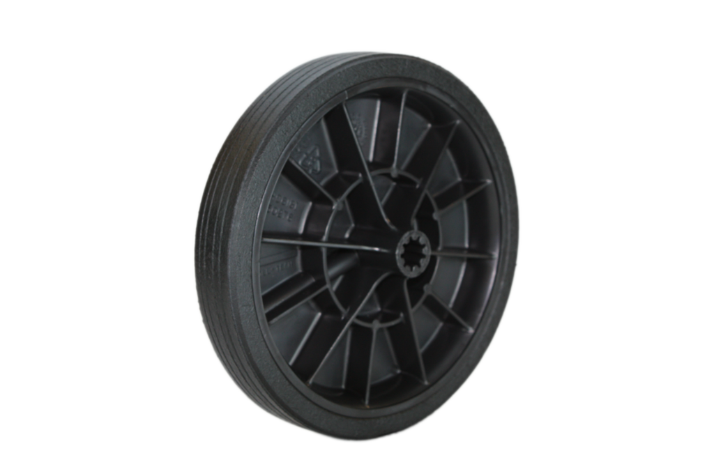 Rubber Treaded Wheels - Multiple Sizes
